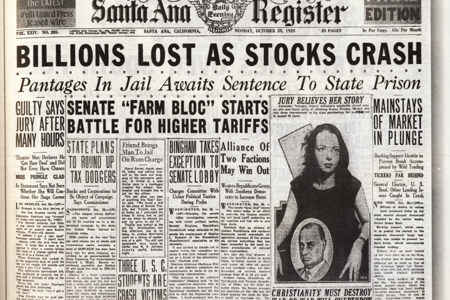 The Great Depression: The Value of Cold Cash