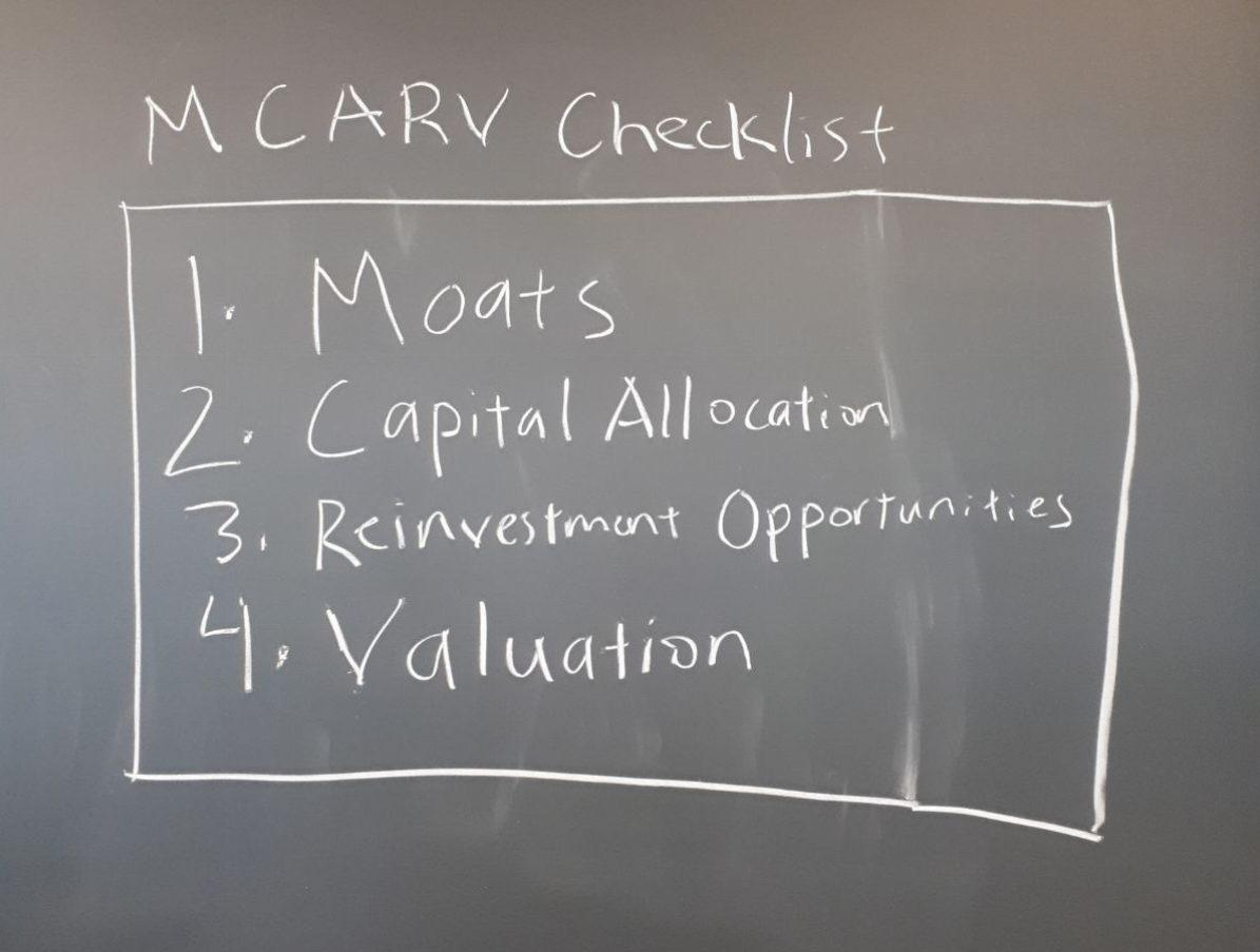 MCARV: More than an Acronym